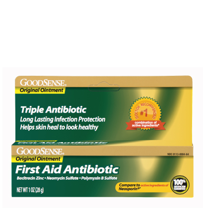 GoodSense® First Aid Antibiotic Ointment Image