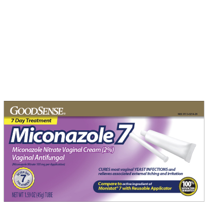 GoodSense® Miconazole 7 Vaginal Antifungal, Reusable Applicator Image