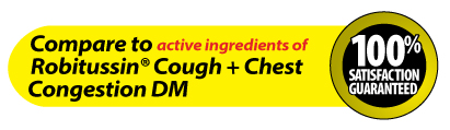 GoodSense® Tussin DM Cough and Chest Congestion Liquid Image