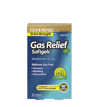 GoodSense® Extra Strength Gas Relief Softgels Image