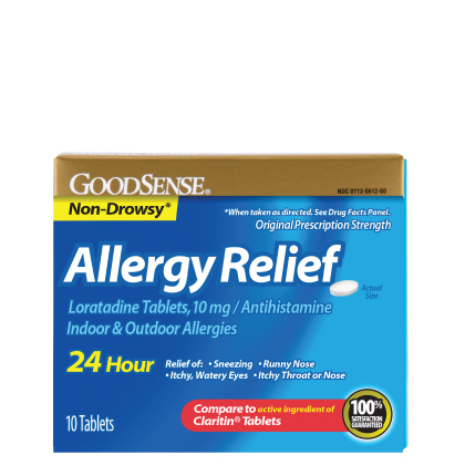 GoodSense® Allergy Relief, Loratadine Tablets, 10mg Image