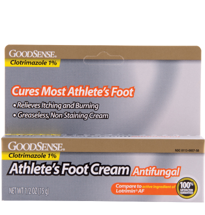 GoodSense® Athlete's Foot Cream Antifungal Image
