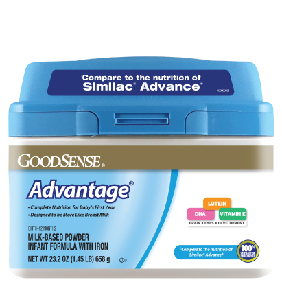 GoodSense® Advantage® Infant Formula Image