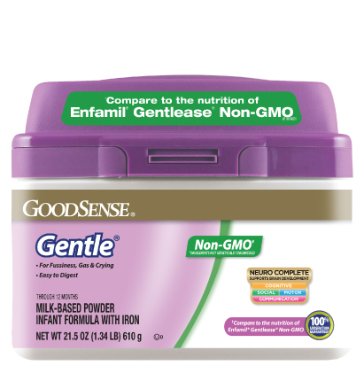 GoodSense® Gentle® Non-GMO Infant Formula Image