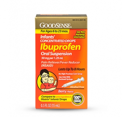 can you give your baby ibuprofen