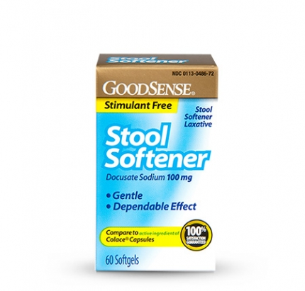 Goodsense Stool Softener Softgels Goodsense